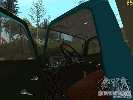 ГАЗ 52 для GTA San Andreas вид сзади