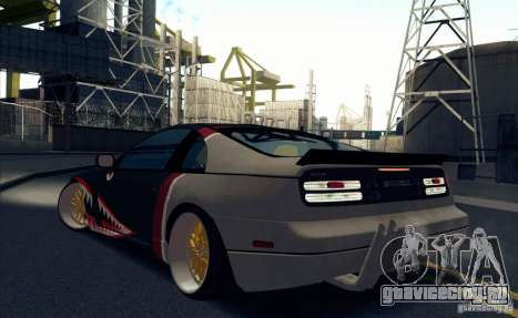 Nissan 300ZX Bad Shark для GTA San Andreas вид справа