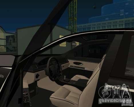Maybach 57S для GTA San Andreas вид сзади слева