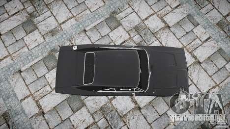 Dodge Charger RT 1969 для GTA 4 вид изнутри