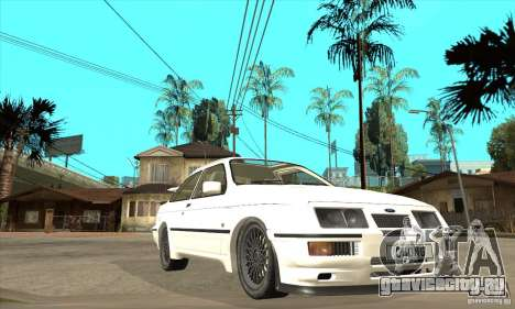 Ford Sierra RS500 Cosworth 1987 для GTA San Andreas вид сбоку