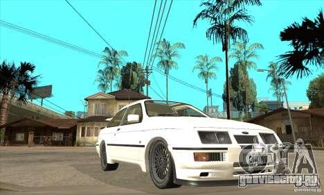Ford Sierra RS500 Cosworth 1987 для GTA San Andreas
