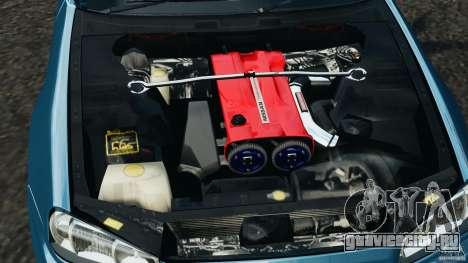 Nissan Skyline GT-R R34 2002 v1.0 для GTA 4 вид сверху