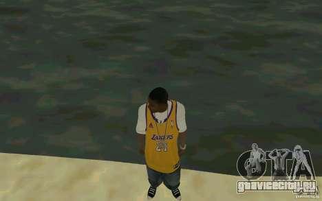 Afro-American HD skin для GTA San Andreas второй скриншот
