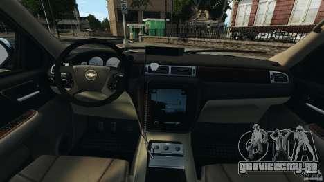 Chevrolet Tahoe LCPD SWAT для GTA 4 вид сзади