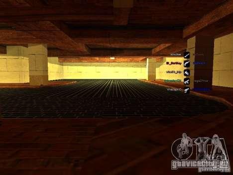 Новый гараж для SFPD для GTA San Andreas четвёртый скриншот