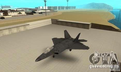 F-22 Black для GTA San Andreas
