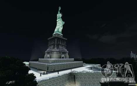 Меню и экраны загрузки Liberty City в GTA 4 для GTA San Andreas