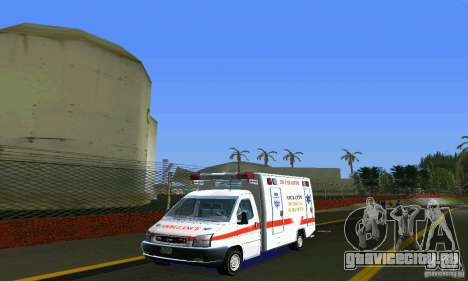 RTW Ambulance для GTA Vice City