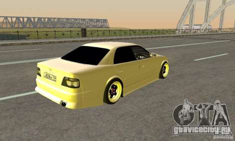 Toyoyta Chaser jzx100 для GTA San Andreas вид слева