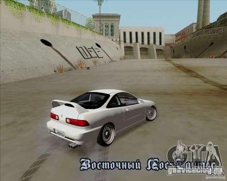 Acura Integra для GTA San Andreas вид изнутри