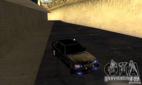 Mercedes-Benz W140 S600 Long Deputat Style для GTA San Andreas вид сзади