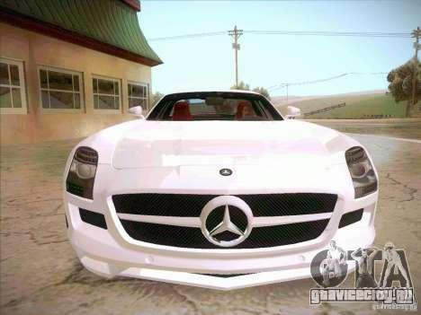 Mercedes-Benz SLS AMG 2010 Hamann Design для GTA San Andreas вид сзади