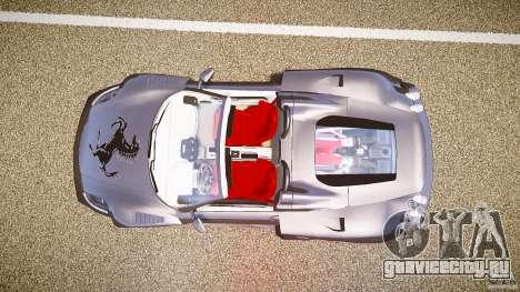 Ferrari F430 Extreme Tuning для GTA 4 вид сзади
