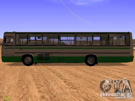 Ikarus C63 для GTA San Andreas вид слева