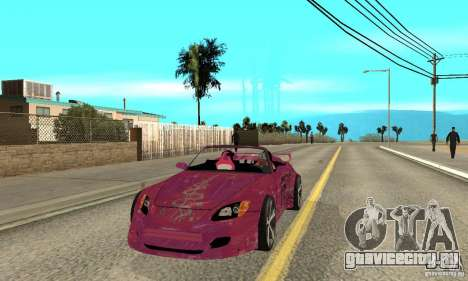 Honda S2000 The Fast and Furious для GTA San Andreas
