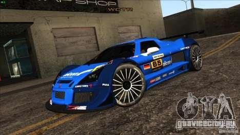 Gumpert Apollo для GTA San Andreas колёса