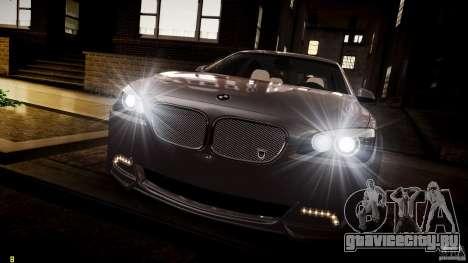 BMW 750Li Sedan ASANTI для GTA 4 вид снизу