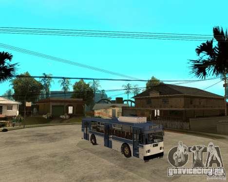 Троллейбус ЗИУ 52642 для GTA San Andreas вид справа