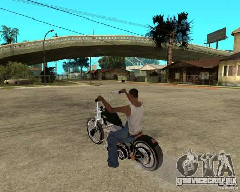 C&C chopeur для GTA San Andreas вид слева