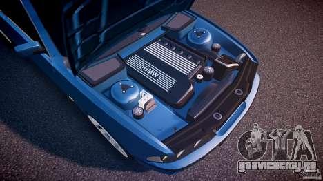 BMW 530I E39 e63 white wheels для GTA 4 вид снизу