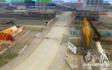 Бетонные дороги Лос-Сантос Beta для GTA San Andreas одинадцатый скриншот