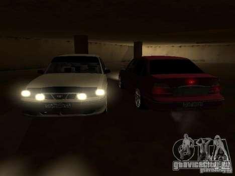 Daewoo Nexia для GTA San Andreas салон