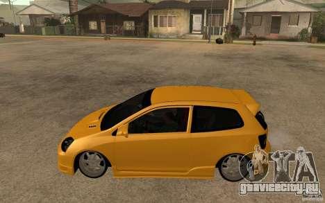 Honda Civic Type-R EP3 для GTA San Andreas вид слева