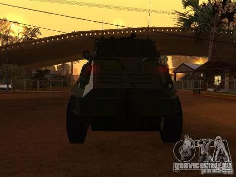 БТР-60FSV для GTA San Andreas вид сбоку