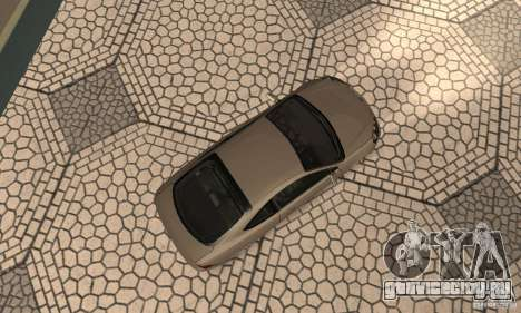 Acura RSX New для GTA San Andreas вид сзади