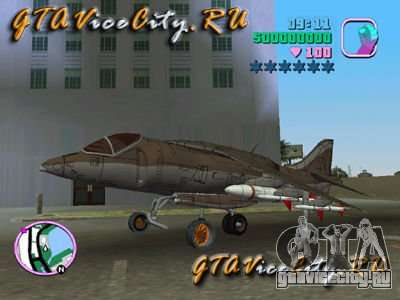 Harrier для GTA Vice City
