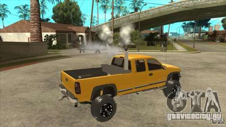 Chevrolet Silverado 2500 Lifted для GTA San Andreas вид справа
