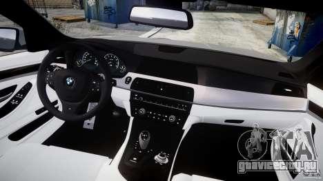 BMW M5 F10 2012 для GTA 4 вид справа