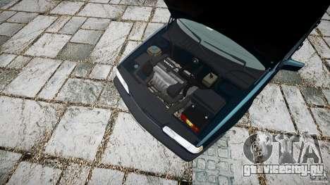 Volvo 850 Turbo 1996 для GTA 4 вид справа