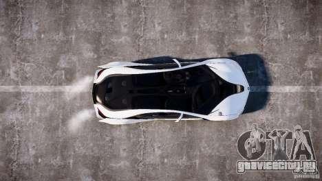 BMW Vision Efficient Dynamics 2012 для GTA 4 вид справа