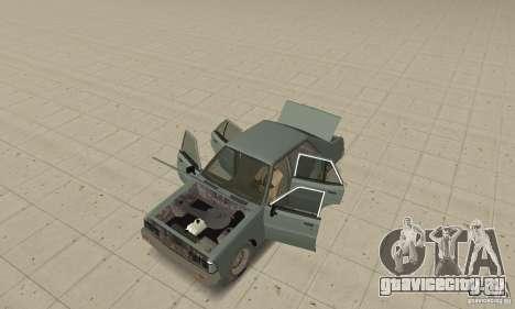 Mitsubishi Galant Sigma 1980 для GTA San Andreas вид сзади