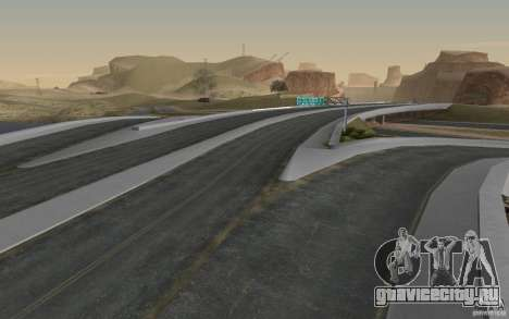 HD Дороги v2.0 Final для GTA San Andreas пятый скриншот