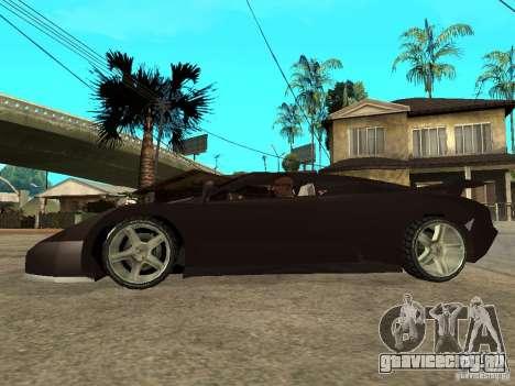 Buggati EB110 для GTA San Andreas вид слева