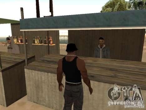 Рынок на пляже для GTA San Andreas третий скриншот
