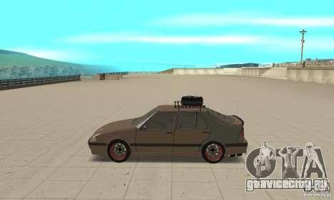 Saab 9000 GT Drifting 1998 для GTA San Andreas вид слева