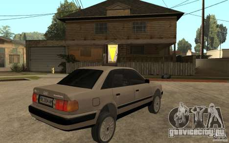 Audi 100 C4 1992 для GTA San Andreas вид справа