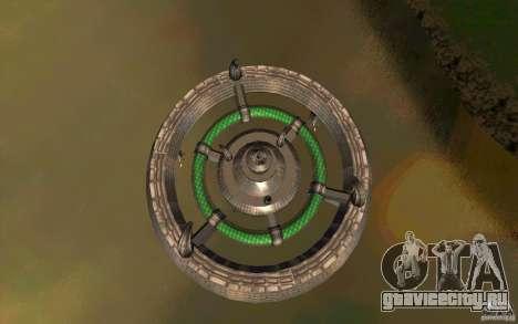 UFO hunter для GTA San Andreas вид сзади слева