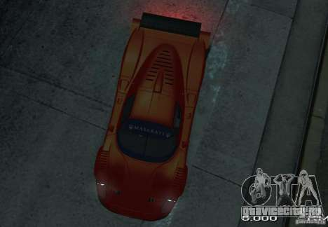 Maserati MC12 R для GTA 4