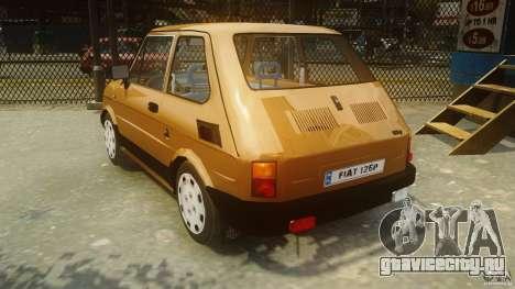 Fiat 126p FL Polski 1994 Wheels 2 для GTA 4 вид сзади слева