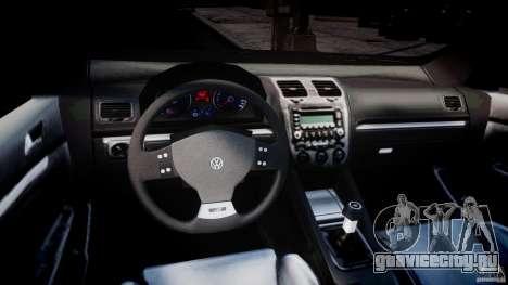 Volkswagen Golf R32 v2.0 для GTA 4 вид справа