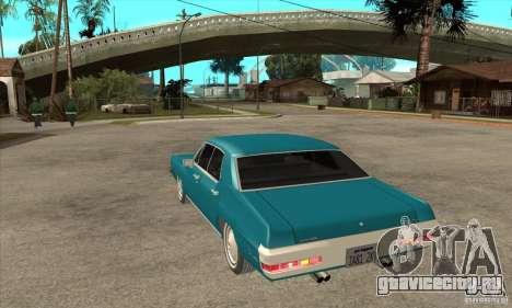 Pontiac LeMans для GTA San Andreas вид сзади слева