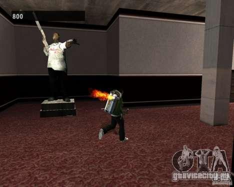 Скрытые интерьеры 3 для GTA San Andreas восьмой скриншот