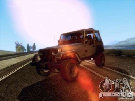 Jeep Wrangler 1994 для GTA San Andreas