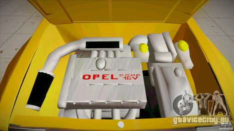 Opel Kadett D GTE Mattig Tuning для GTA San Andreas вид сверху