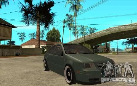 VW Bora для GTA San Andreas вид сзади